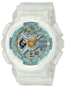 Baby-G Damenuhr Casio Armbanduhr BA-110SC-7AER