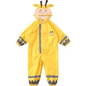 Kinder Regenmantel Atmungsaktive Regenbekleidung Wasserdichter Regenmantel Für Kinder Jungen Mädchen Studenten Regenanzug Kapuze Hohe Sichtbarkeit Reflektierender Regenmantel