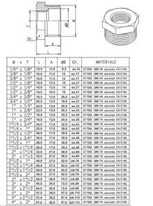 tecuro Reduzierstück 1/2 x 3/8 AG/IG - messing blank