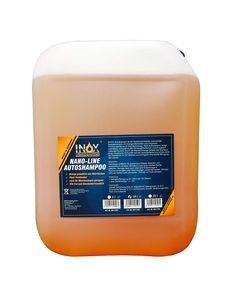 INOX® Nano Line Autoshampoo, 10L - hochwirksame Fahrzeug Reinigung mit Abperleffekt