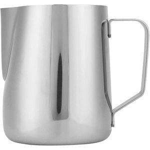 Mllaid Milchaufschäumer und Krug Edelstahl Shot Cups Milchaufschäumer Restaurants Coffee Shops für Familienküchen