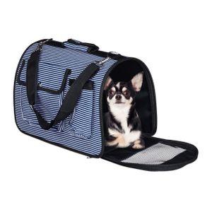 relaxdays Hundetasche mit Seitenfächern