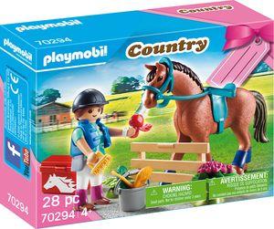 """PLAYMOBIL, Geschenkset """"Reiterhof"""", Country, 70294"""