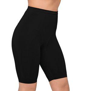 Body Wrap Shapewear Damen - Miederhose Bauchweg Unterhose (S-XL) Body Shaper Damen Bauch weg Unterwäsche Damen - nahtlose Figurformung, Farben:Schwarz (BK), Größe:48 (2X)
