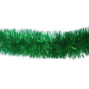 Weihnachtsgirlande Grün 2m Lametta Weihnachts Girlande Party Fasching Weihnachtsbaumschmuck Deko