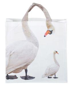 Esschert Design Einkaufstasche Schwan 39,5x14,0x51,0 cm