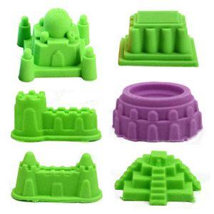 Castle Sand Mould 6Pcs / Set Strand Kinder Toy Building Sight Kids