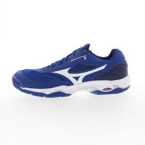 mizuno Wave Phantom 2 Handballschuhe Herren - blau 43