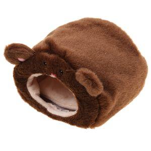 Hängematte Für Frettchen Ratte Hamster Eichhörnchen Hängebett Spielzeug Haus Dunkelbraun # Dunkelbraun#