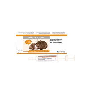 Alfavet RodiCare® HAIRBALL 3 x 12ml für Zwergkaninchen & Meerschweinchen