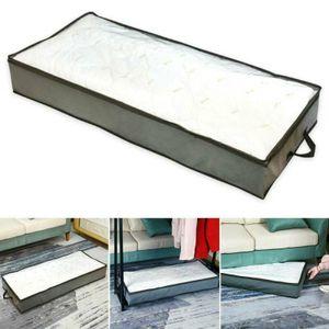 Unterbett Kleidung Unterbettkommode Unterbettbox Aufbewahrung Schuhe Storage Box Tasche 103 * 45 * 15 cm