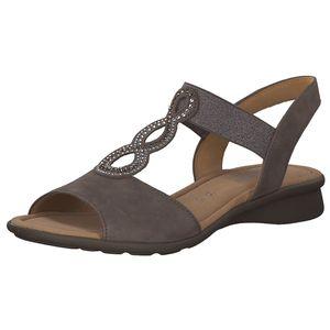 Gabor Florenz Damen klassische Sandale Braun Schuhe, Größe:38