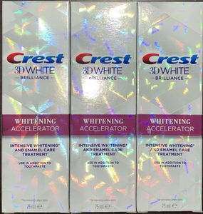 Crest 3D White Brilliance Whitening Accelerator 3 x 75 ml