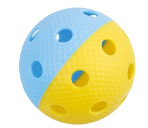 Floorball Ball Tempish Bullet gelb/blau