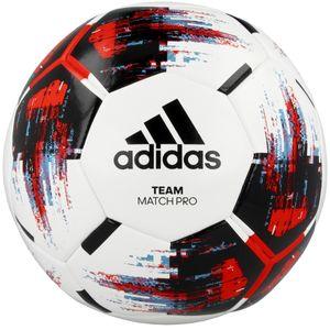 adidas TEAM MATCH BALL PRO OMB Fußball Ball Weiß, Größe:5