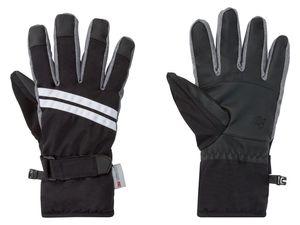 CRIVIT®PRO Damen Skihandschuhe (8, schwarz/weiß/grau)