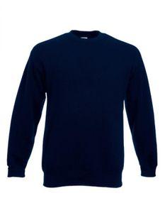 Classic Set-in Sweatshirt | Pullover - Farbe: Deep Navy - Größe: XXL