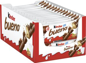 Ferrero kinder Bueno 2er Riegel im 30er Big-Pack (30 x 2 Riegel)