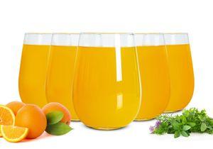 6 Gin-Gläser 590ml Longdrinkgläser Tonic-Gläser Cocktailgläser