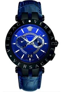 Versace VEBV00419 V-Race Herrenuhr Dualtimer