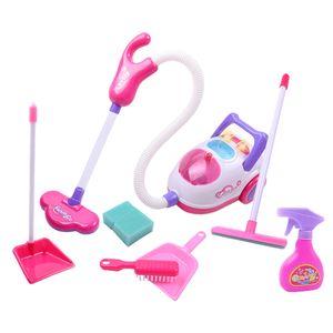 Kinder Staubsauger mit Reinigungsset