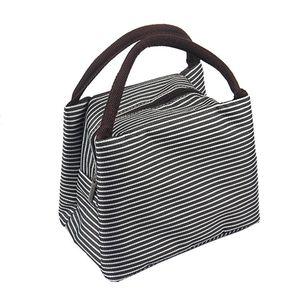 Modische kleine Kühltasche in Schwarz 5L Kühlbox Thermotasche Isoliertasche Lunchtasche Camping