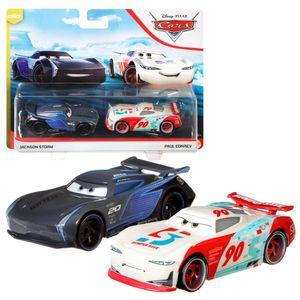 Auswahl Doppelpack | Disney Cars | Fahrzeug Modelle 2020 | Cast 1:55 | Mattel, Typ:Jackson Storm & Paul Conrev