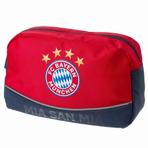 """FC Bayern München Kulturbeutel """"Mia san mia"""" 25x11x15cm"""