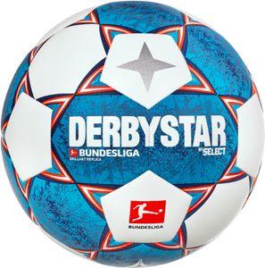 DERBYSTAR Trainingsball - Bundesliga Brillant Replica 21/22, Größe:5