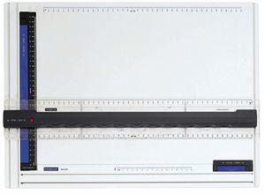 STAEDTLER Zeichenplatte Mars DIN A3 weiß/anthrazit/blau