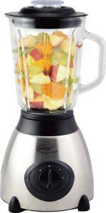 Elta Standmixer Edelstahl Glas Mixer Smoothie Maker 1,5L Blender 500W