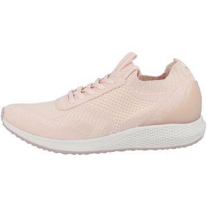 Tamaris Damen Low Sneaker Tavia Fashletics Lace UP 1-23714-26 Rosa 522 Soft Rose Textil/Synthetik mit Removable Sock, Groesse:41 EU