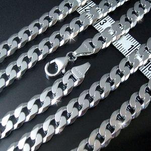 Panzerkette 7,8mm x55cm  Sterling Silber 925 Halskette diam. K13578-55