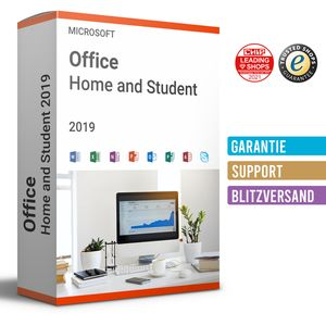 Microsoft Office 2019 Home and Student Windows | Sofortdownload | 24/7 Support