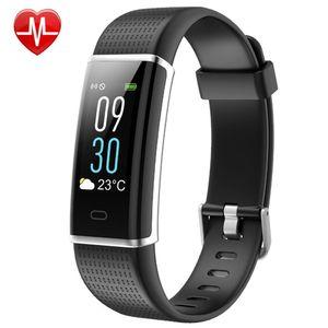 Fitness Tracker, Fitness Watch Activity Tracker mit Herzfrequenzmesser Uhr