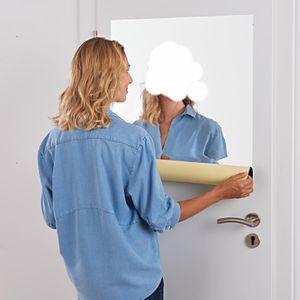 Spiegelfolie Selbstklebend Wand Möbel 150 x 58 cm Wandspiegel Folie Spiegel