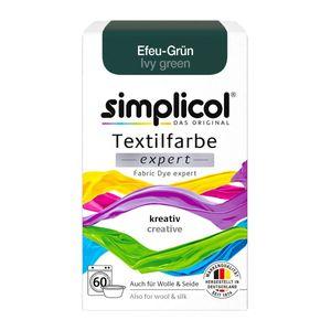 Simplicol Textilfarbe expert zum kreativen Färben in Efeu Grün