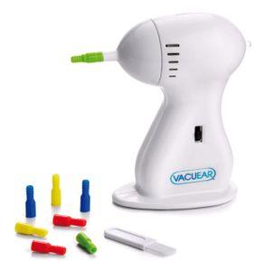 Vacu Ear elektrischer Ohrreiniger mit Vakuumfunktion, inkl. 8 Silikonaufsätze, Ohrreiniger Reinigung Ohrenschmalz Ohrreinigungsgerät, Aus der TV Werbung