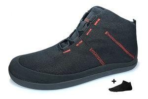 Sole Runner T1 Allrounder 4 + Zehensocke, Size:39, Color:Black/Red