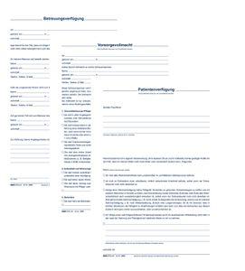 """RNK Verlag Vordruck """"Patientenverfügung"""" 220 x 162 mm"""