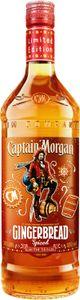 Captain Morgan Gingerbread Lebkuchengeschmack Spiced limitierte Sonderedition Spirit Drink   30 % vol   0,5 l