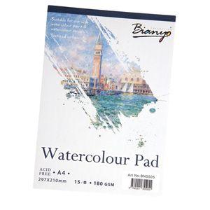 A4 Zeichenpapier Malpapier Aquarellpapier Skizzenpapier Aquarellblock für Wasserpinsel StifteAquarellstifte