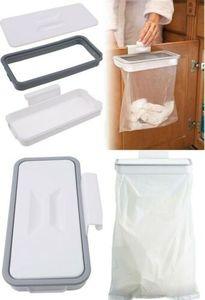 GKA Müllsackhalter zum Hängen für die Tür Abfalleimer Müllsack Halter Mülleimer für Schranktür