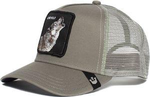 Goorin Bros. Wolf Trucker Cap grey Größe One Size