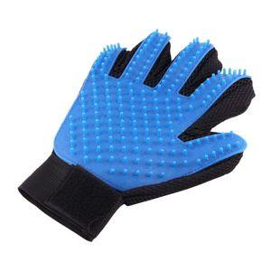 Handbürste / Bürstenhandschuh zum massieren und enthaaren für Hunde