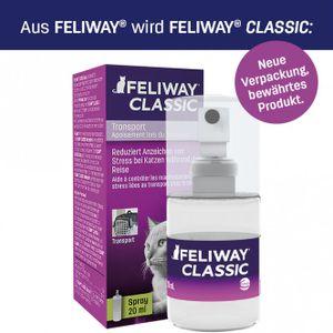 Feliway Sprühflasche  gegen Harnmarkieren und Transportstress, Option:20 ml
