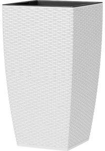 emsa Blumensäule CASA MESH Höhe: 580 mm weiß
