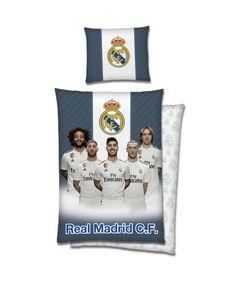 Real Madrid Bettwäsche Player Baumwolle 140x200 Spieler Fußball Geschenk Neu