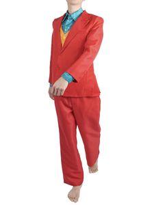 Arthur Fleck Anzug mit Weste und Hemd   Kostüm für Joker Fans   Größe: S