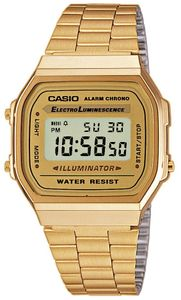 Casio Armbanduhr Collection A168WG-9EF